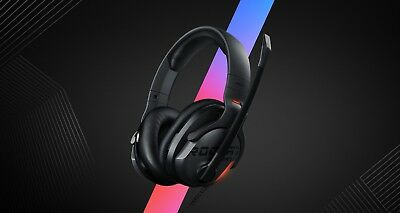 ROCCAT Khan Aimo - 7.1 Surround Gaming Headset Hi-res Sound USB Aimo LED