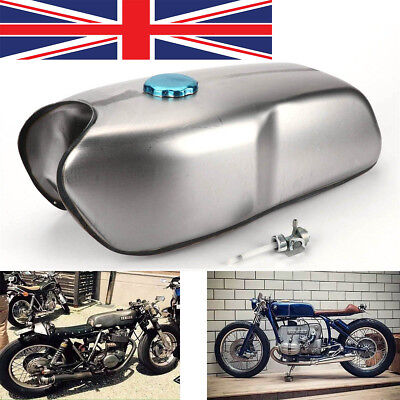 Universal Cafe Racer Fuel Tank Petrol Tank 9L/2.4 Gallon for Honda Yamaha BMW