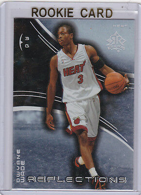 Dwyane Wade 200304 Rookie Card Reflections Rc Miami Heat