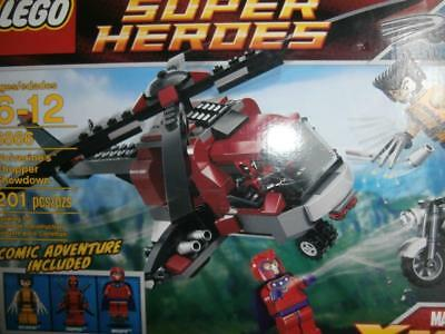Lego Marvel Super Heroes 6866 Wolverines Chopper Showdown Set