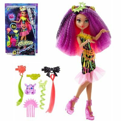 Clawdeen Wolf | Mattel DVH70 | Electrified with Accessoires | Monster High Doll