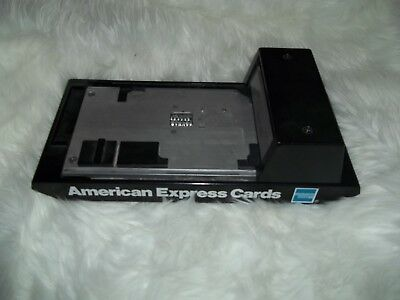 American Express Credit Card Imprinter machine SLIDER