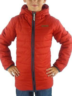 O'Neill Jacket Quilted Ice Storm Red Thinsulate Hood Pockets