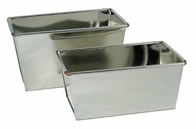 2lb   3lb Loaf Tins, Heavy Duty, Tinplate, Ideal For Farmhouse   Standard Size L