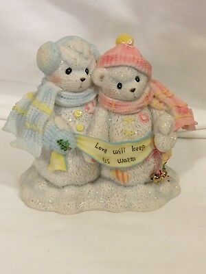 "Cherished Teddies 2002 Frosty And Aurora - ""Let It Snow, Let It Snow""  - 706884"