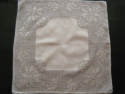 Vintage WEDDING Hanky Handkerchiefs Drawnwork lace hand done Swiss floral white