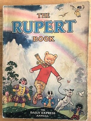 RUPERT ORIGINAL ANNUAL 1948 Not Inscribed NOT Price clipped G/VG