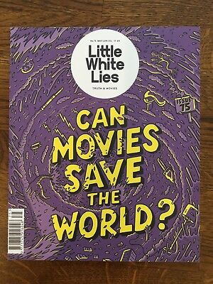 Little White Lies Magazine Issue 75 2018 Can Movies Save The World Film Mag New