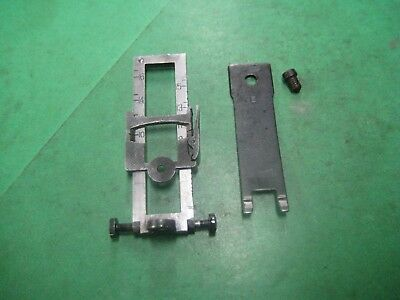 1914  Enfield Complete Rear Sight -Blue - Eddystone - Excellent