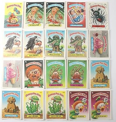 Garbage Pail Kids Cards Original Series 3 Lot of 20 No Doubles Fair To Good 89b