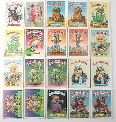 Garbage Pail Kids Cards Original Series 3 Lot of 20 No Doubles Fair To Good  98b