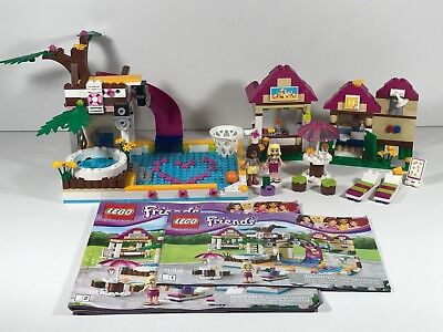 Lego Friends Heartlake City Pool 41008 Complete And Ready To