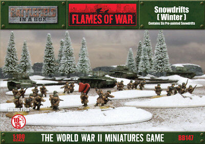 Flames of War - Snowdrifts: Winter