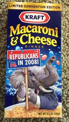 Kraft macaroni & Cheese From 2008 Republican Convention
