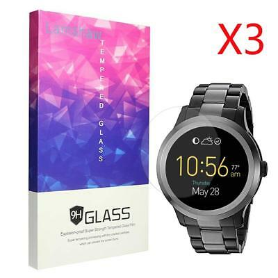 6123 Pack Tempered Glass Screen Protector 9H Hardness for Fossil Q Founder Gen 2