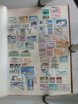 Thematic stamps Aircraft