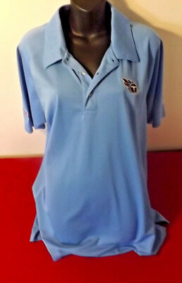 Nfl Tennessee Titans Official Rbk Polo In Almost New Condition Size M