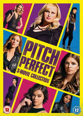 Pitch Perfect Trilogy DVD (2018) Anna Kendrick ***NEW***