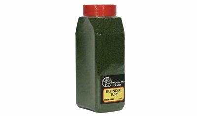 Woodland Scenics T1349 Ground Foam Blended Turf Green Blend Shaker Container
