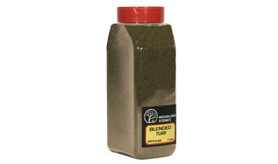 Woodland Scenics T1350 Ground Foam Blended Turf Earth Blend Shaker Container