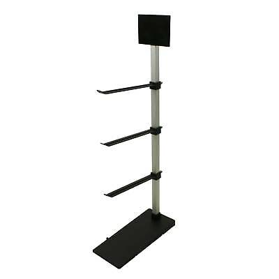 3 Tier Adjustable Hook Counter Top Retail Display (J400)
