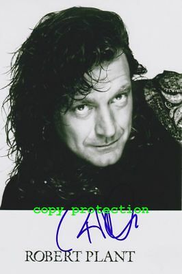2074 Robert Plant, Led Zeppelin, Autogramm Foto, Stairway to Heaven
