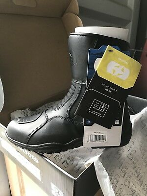 Oxford Hunter Motorcycle Boots New