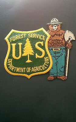 The Forest Service /Smokey Bear Fabric Patch.