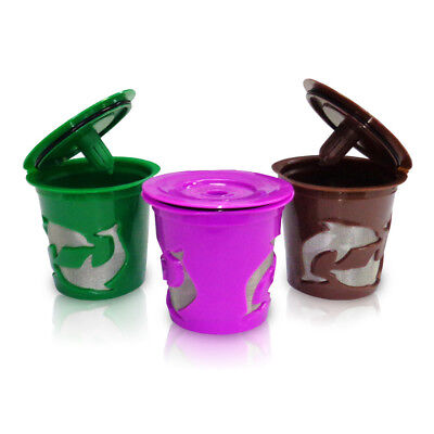 Durable Refillable Reusable K-Cup Coffee Filter Pod for Keurig 2.0 Coffee Fashio