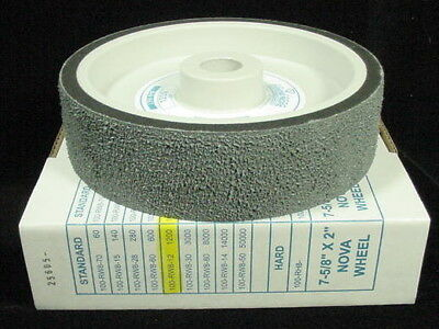 "NEW Diamond Pacific 8"" NOVA Lapidary Wheel for GENIE U-Pick Grit ~ The RockPile"