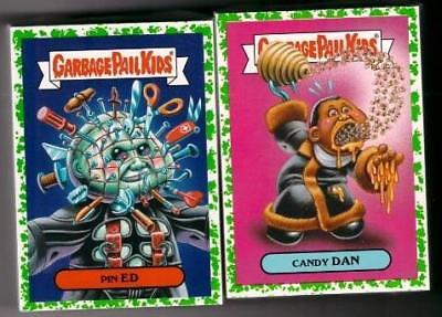 3295e7fcd23 2018 Garbage Pail Kids Oh The Horror-Ible Green Puke Complete Set 200 Cards  New