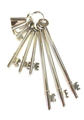 Fire Brigade Master Keys Set of 9, Fireman Brigade Keys Manufactured in  UK