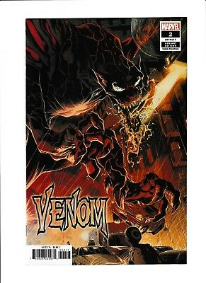 Venom (2018) #2 NM 3rd Print Variant HOT New Series!! Cool Cover!!