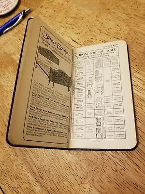 1928 The Seng Book Annual Salesman Antique Furniture Reference Guide Handbook