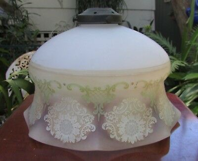 Stunning Original Vintage Glass Ballerina Light Shade