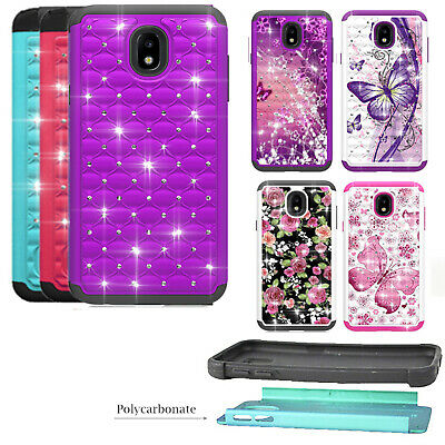 pretty nice 361d4 22ac5 PHONE CASE FOR Samsung Galaxy J7 Crown (S767VL) Dual-Layered Crystal Cover