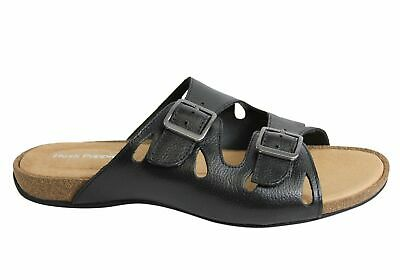64738ce34 Brand New Hush Puppies Arcadia Womens Leather Comfort Slides