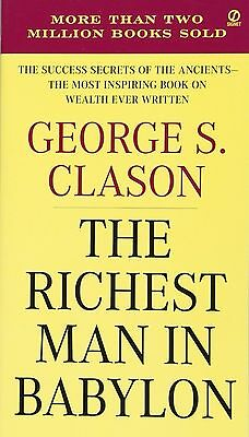 The Richest Man in Babylon -The Success Secrets of the Ancients Book English New