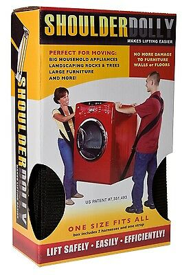 Shoulder Dolly 2-Person Makes Lifting Easier Appliances Lift Carry Heavy Stuff