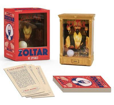 Mini Zoltar: He Speaks! by Zoltar Book & Merchandise Book Free Shipping!