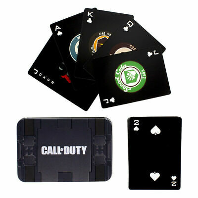 Call of Duty Care Package Playing Cards with collectible tin