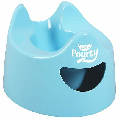 Pourty EASY-TO-POUR POTTY - BLUE Baby Child Toilet Training BN