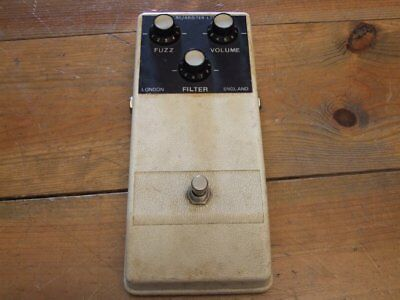 ** CBS / Arbiter Fuzz King by Gary Hurst * early 70ies Vintage Pedal **