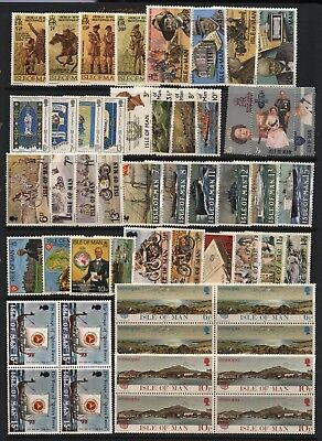 Isle of Man Collection Commemorative Sets Unmounted Mint