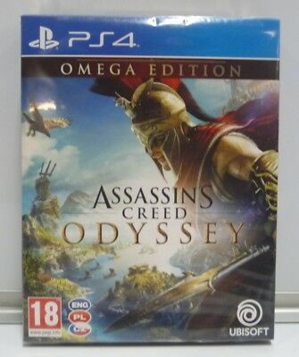 Assassin's Creed Odyssey Omega Edition -  Sony Playstation 4 Ps4 Pal Region Free