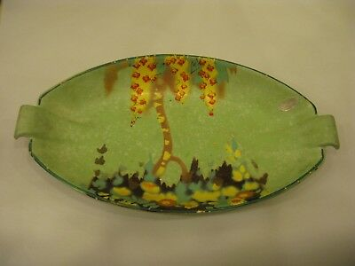 Rare Vintage/Antique Brentleigh Ware Art Deco Hand Painted Serving Bowl   #PO269