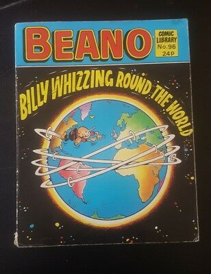 BEANO COMIC LIBRARY #96 1986 - Billy Whizz