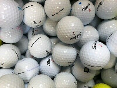 100 Pearl  A Titleist Golf Balls Trusoft Velocity Nxt Tour Solo Etc Free P&P