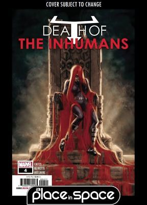 Death Of The Inhumans #4A (Wk40)