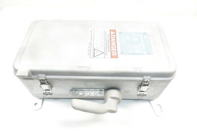 Crouse Hinds WSR63542 Interlocked Arktite Receptacle W/ Enclosed Switch